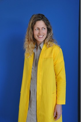 Manteau Coco yellow smiley