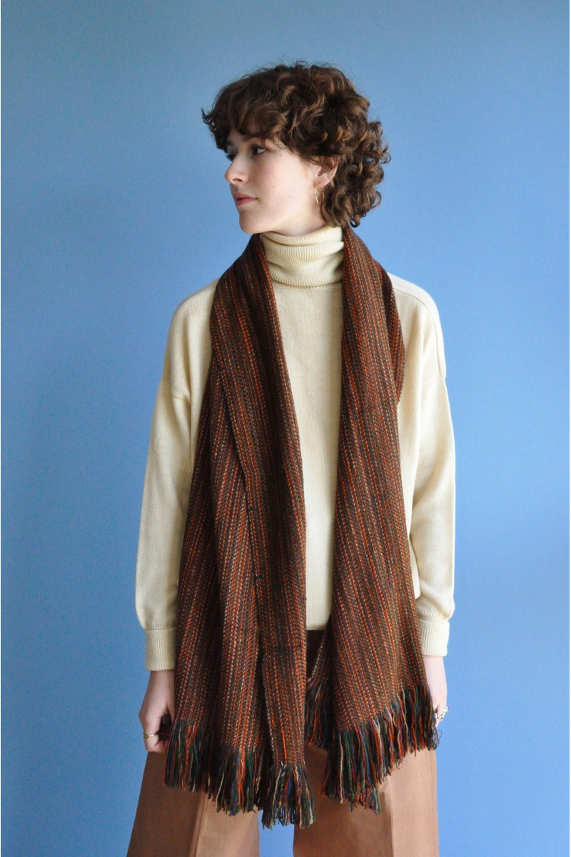 upcylcing scarf stole accessoiries cashmere yak camel wool collector handspun handwoven
