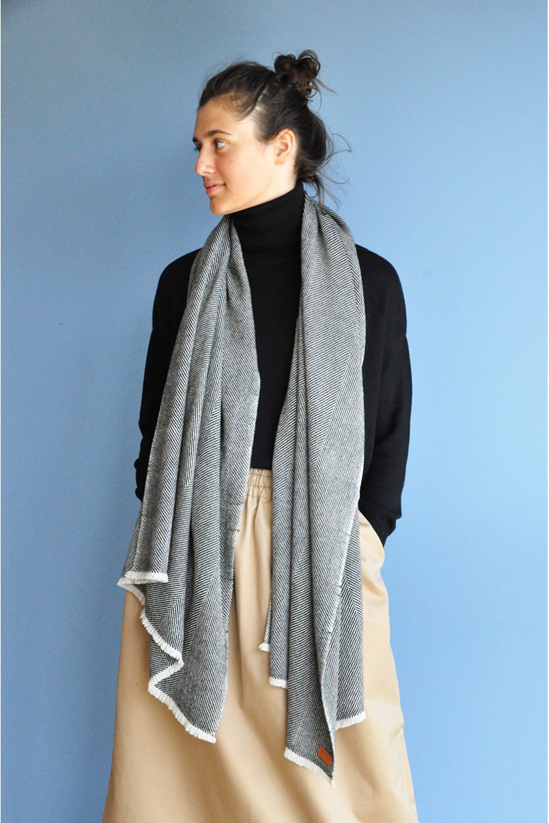 wool yak yarn scarf echarpe hiver chaud doux soft luxe high quality