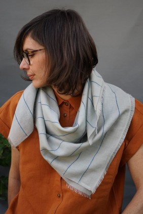 scarf stole bandana cotton hand woven natural fiber  accessories textile